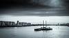 london-1-140318 (Snowpetrel Photography) Tags: limehouse london olympusem5markii olympusm1240mmf28 thames barges blackandwhite boats cityscape monochrome rivers spring urbanlife water england unitedkingdom