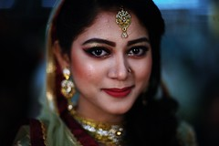SAADIA (N A Y E E M) Tags: sadia niece portrait wedding availablelight indoors officersclub chittagong bangladesh