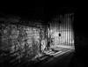 No Escape (Matthew Bickham) Tags: coppedhall door locked blackandwhite underground shadow