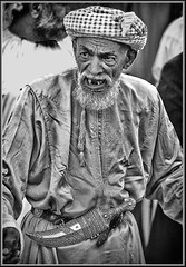 """Man of Sinaw"" (flavius200) Tags: flavius200 dorking photocraft camera club fishing woman bedu bedouin arabia desert sand scrub mountain mono monochrome black white nikon d3x d800e wilfred thesiger desolate isolated uae 4x4 camping alone traveller exploring tribes david harford morning evening night market"