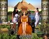 Cleopatra Queen of the Nile (Davien Orion) Tags: egyptian cleopatra queen princess egypt pyramids pyramid desert servants throne kingdom nile photoshopelements photomanipulation explore model women deviantart google