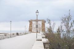 torre di lgny (alegalia1988) Tags: tower torre sicily sicilia italy italia trapani cloudy sea mare grey tree wall fence stone street strasse strada grigio lamp