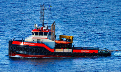 Scotland Greenock sea going tug MTS Vanguard heading for Rotterdam 24 March 2018 by Anne MacKay (Anne MacKay images of interest & wonder) Tags: scotland greenock sea going tug mts vanguard ship boat xs1 24 march 2018 picture by anne mackay