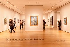 Museum of Modern Art, New York (Obliot) Tags: quadro luci newyork arte manhattan museum legno pittura nyc parquet stanza ambiente persone moma ny unitedstates