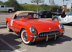 1955 Chevrolet Corvette C1 (Yohai_Rodin) Tags: classic car cars israel tel aviv מכונית קלאסית מכוניות קלאסיות מירוץ הולילנד 1000