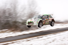 Tempestini Simone & Sergiu-Sebastian; Citroën DS3 R5 (Michal Jeska) Tags: tempestini simone sergiusebastian citroën ds3 r5 saarlandpfalz rallye 2018 motorsport motorsports rallying winter snow canonef70300mmf456isiiusm flying car sprung kuppe windpark canoneos40d canon40d