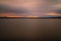 Sunset, Sloan's Lake (mclcbooks) Tags: sunset evening dusk sundown sky clouds le longexposure landscape sloanslake denver colorado