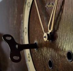 Old clock (ryorii) Tags: macro clock old backintheday macromondays monday