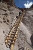 Climbing to Alcove House (Kim Tashjian) Tags: bandeliernationalmonument newmexico ladder