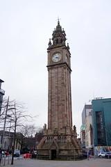 Albert Memorial Clock, Belfast, Northern Ireland (mattk1979) Tags: belfast northern ireland unitedkingdom albert memorial clock tower