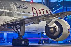 Qatar Airways Boeing B777-300ER A7-BAI Bangalore (BLR/VOBL) (Aiel) Tags: qatarairways boeing b777 b777300er a7bai bangalore bengaluru canon60d tamron70300vc