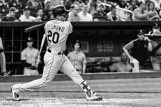 Ian Desmond batting, Colorado Rockies