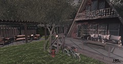 The Cabin (Hard Knot Life | SL Blogger) Tags: schultzbros serenitystyle decocrate acorn illuminate outsidethebox unkindness fameshed papermoon theseasonsstory littlebranch {whatnext} brocante