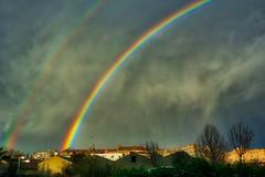 2 arco iris         2 rainbows (Carlos M. M.) Tags: huesca hoyadehuesca aragón hdr arcoiris raibow sony sonyalpha6000 clouds nubes sky rainbow