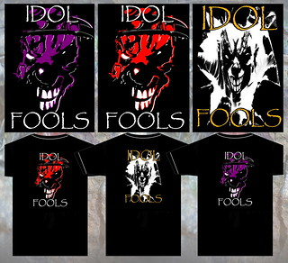 Idol Fools Band Art Shirts