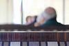 A man walks into a diner ..... (tmattioni) Tags: medford medportdiner plain grey booth hww smileonsaturday