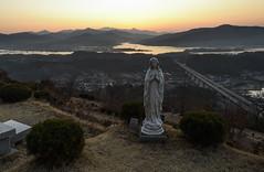 Yangsuri Catholic (TigerPal) Tags: southkorea korea yangsuri landscape sunrise cemetery sohwa gyeonggido vista view catholic graveyard korean