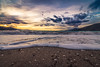 On the beach (Vagelis Pikoulas) Tags: sun sunset greece beach waves wave wavy sea seascape landscape psatha greek europe view sky skyscape clouds cloudy cloud cloudscape afternoon tokina 1628mm canon 6d