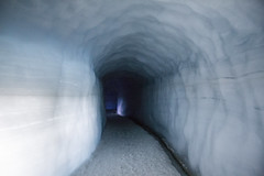 From Fire to Ice (^Diana^) Tags: 4494a glacierlangjokull ice cave tunnel icecave frozen socold freeze lights reykjavik iceland arctic snow mountain glacier fire melting