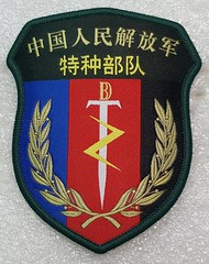 China Special Operations Forces (Sin_15) Tags: pla china army group special operations insignia patch badge peoples liberation ground force chinese