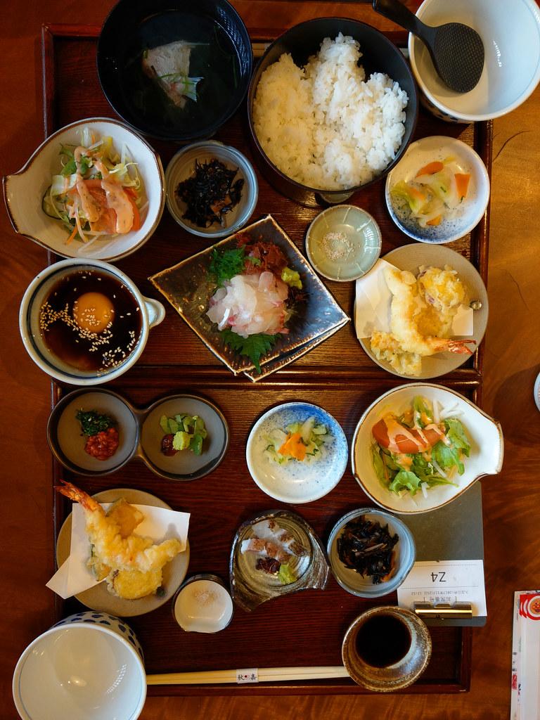 秋嘉松山鯛魚飯