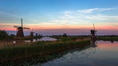 Windmills (AlexKr81) Tags: kinderdijk windmills sunset holland netherlands