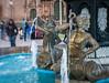 Fountain in the Plaza de Armas - Cusco, Peru. (mckinnon949) Tags: cusco cuzco peru pe sweet 35 optic lensbaby