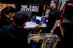 IMG_7657 (holytrinityrobotics) Tags: oakville omgrobots light event coverage robot robotics hersheyscentre gold mechanical electrical pneumatics onchampsfrc first firstcanada frc ontario tronic titans