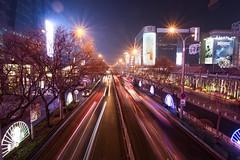 Beijing by night (umoilanen) Tags: night city lights beijing china traffic