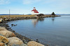 NS-00146 - Gilberts Cove Lighthouse (archer10 (Dennis) 130M Views) Tags: sony a6300 ilce6300 village 18200mm 1650mm mirrorless free freepicture archer10 dennis jarvis dennisgjarvis dennisjarvis iamcanadian novascotia canada gilbertscove red white point