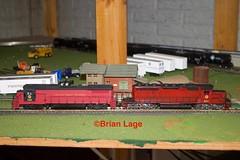 IMG_6065 (eslade4) Tags: cgw chicagogreatwestern dash8 sd402 hoscale painted