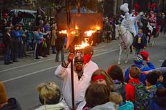 Hot Hot HOT! (BKHagar *Kim*) Tags: bkhagar mardigras neworleans nola la parade celebration people crowd beads outdoor street napoleon uptown proteus kreweofproteus horse horses