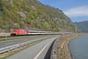101094 - Boppard Hirzenach (DE) 14/04/18 (James Welham) Tags: 101094 deutsche bahn db bombardier traxx ec7 hamburg altona interlaken ost boppard hirzenach rhein rheinstrecke rhienland germany deutschland 1010941