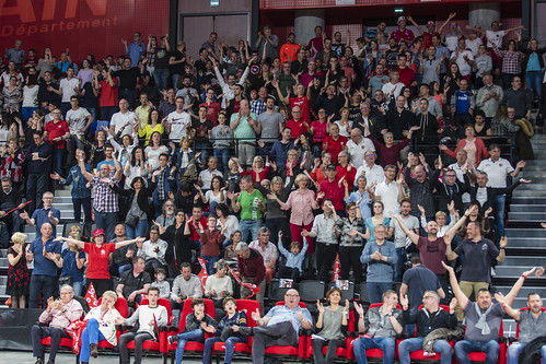 Supporters de la JL Bourg - ©JacquesCormareche