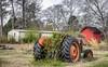 Immobilized (shuddabrudda) Tags: tractor hdr vines abandonedtractor redshed nikond7200 nikkor18200mmvr