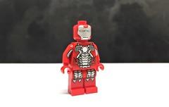 Iron Man 2 (LJH91) Tags: christo7108 iron man ironman mark markv ironmanmark marvel cinematic universe mcu comics character pad printed lego custom minifigure