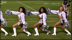 2017 Oakland Raiderettes - Coliseum (billypoonphotos) Tags: 1685mm 1685 madyson helina jazzmine mm 2017 oakland raiders raiderette raiderettes raider nation raidernation nfl football fabulous females cheerleaders cheerleading dance dancer nikon d5500 nikkor lens billypoon silver black photo picture photography photographer pretty girls ladies women squad team people coliseum dancers billypoonphotos stadium sport grass field female lady woman