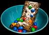 Brownie - M&m's - poudre crème anglaise (Enzo R.) Tags: brownie crème anglaise mms colors food aliments couleurs gâteau cake cook cuisine kitchen candies bonbons