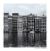 Amsterdam / Damrak (Der Zeit die Augenblicke stehlen) Tags: monochrom bw sw hth56 amsterdam niederlande holland netherlands