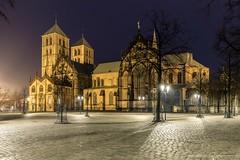 St. Paulus-Dom (Re Ca) Tags: blauestunde bluehour canon city dom eos6dmkii germany münster nrw nachtaufnahme night westfalen ef1635mm