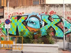 K X (ziso) Tags: streetart graffiti chiangmai thailand