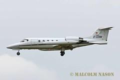 LEARJET LR35A D-CDIM JET EXECUTIVE INTERNATIONAL CHARTER (shanairpic) Tags: bizjet corporatejet executivejet shannon aircraft aeroplane lr35a learjet jetexecutive dcdim