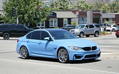 BMW M3 ZCP (F80) (SPV Automotive) Tags: bmw m3 zcp f80 sedan exotic sports car blue