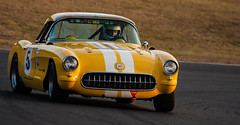 For those who like Corvettes (dicktay2000) Tags: canonef100400mmf4556lisusm kevanpeters rodhunwick sydney motor sport parkaustralia yellowcorvette 40d hsrca saturday easterncreek newsouthwales australia 20120630img4495