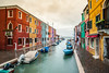 The colors of Burano (gspyridakos1) Tags: burano venice italy colors buildings architecture sky clouds trip
