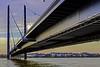 Bridge over high water (FBK1956) Tags: wasser water river city rhein stadt bridge brücke düsseldorf 2018 altstadt canon canoneos canoneos5dmarkiv fluss nrw