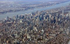Midtown Manhattan (pgmark1) Tags: newyork view flying