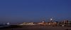 Night's view on the coast of Scheveningen (Alona Azaria) Tags: scheveningen nederland thenetherlands thehague denhaag coastline seascape night longexposure nikon 2470mmf28 nikkor lighthosue nightscape