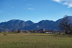 2017-12-31 Schlehdorf, Kochelsee, Kreut-Alm 010 (Allie_Caulfield) Tags: foto photo image picture bild flickr high resolution hires jpg jpeg geotagged geo stockphoto cc sony rx100 2 ii 2017 silvester winter alpen alps bavaria oberbayern schlehdorf kochelsee see lake oberland voralpen viewpoint hike wanderung blue sky