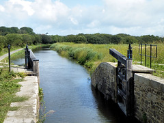Whalesborough Lock (R~P~M) Tags: canal waterway bude budecanal cornwall kernow england uk unitedkingdom greatbritain lock